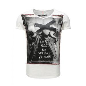 T-SHIRT Tee shirt Trueprodigy 1062120 Blanc