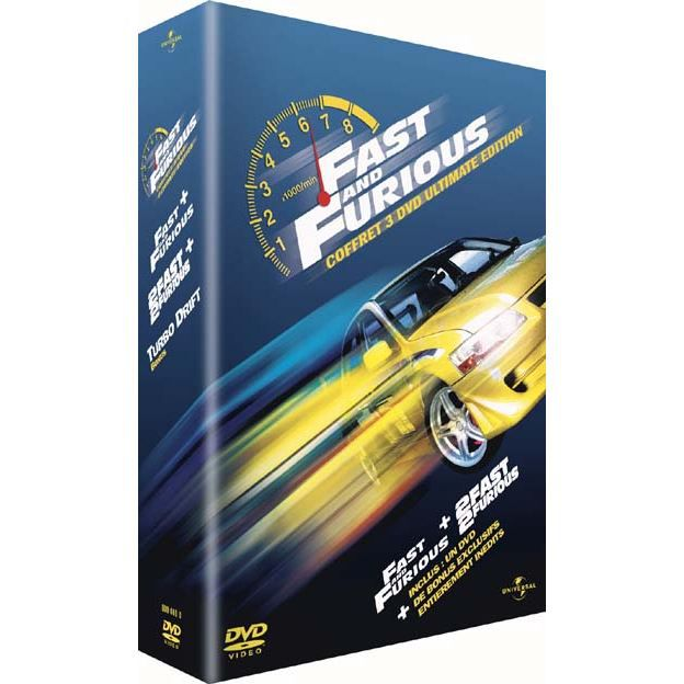 dvd fast and furious 2 fast 2 furious en dvd film pas cher cohen rob singleton john soldes. Black Bedroom Furniture Sets. Home Design Ideas