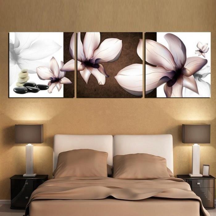 Tableau moderne imprim sur orchid e fleur multi panneaux d co maison murale - Different type de vente ...