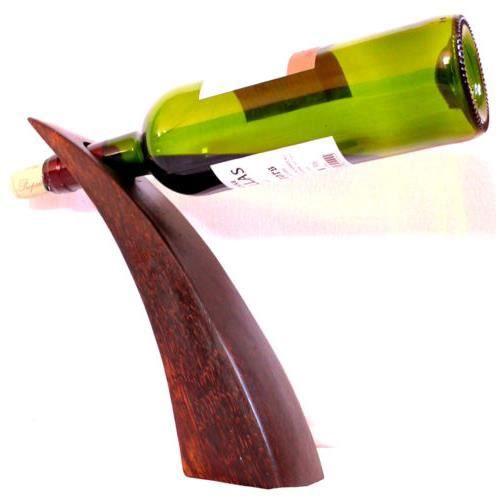 porte bouteille vin presentoir bois palmier sommel achat vente objet d coratif cdiscount. Black Bedroom Furniture Sets. Home Design Ideas