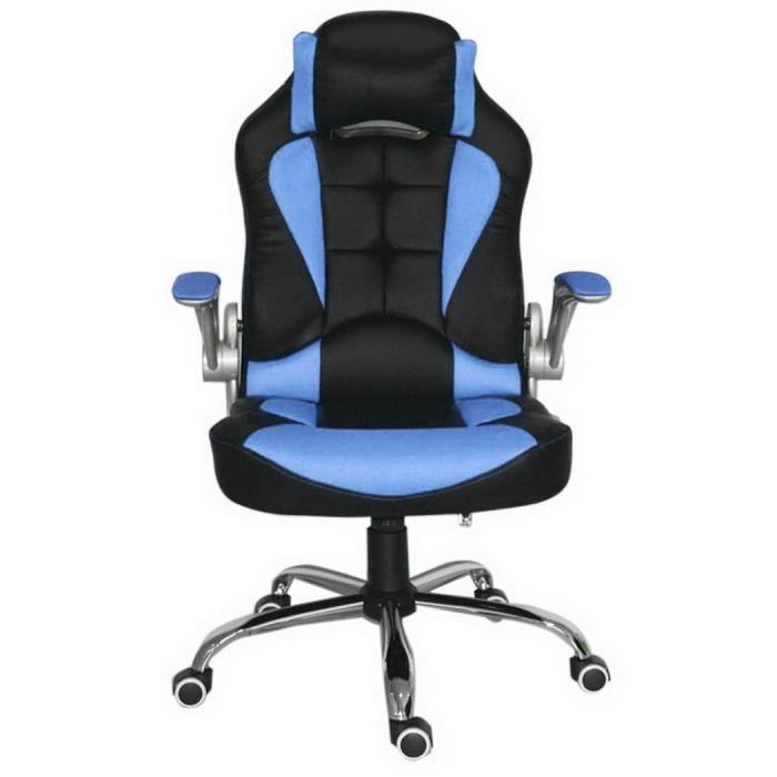 Chaise de bureau fauteil de bureau r glable ordinateur for Fauteuil de bureau soldes