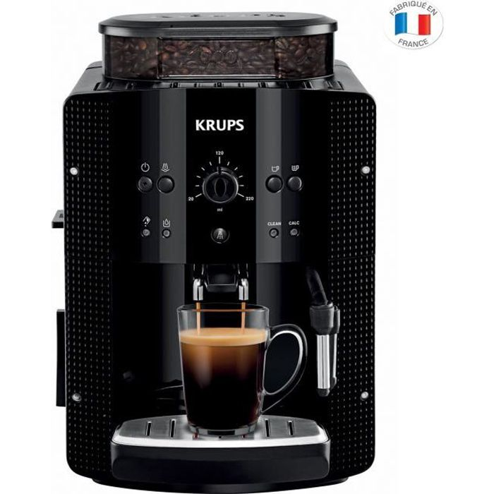 expresso broyeur automatique krups yy8135fd achat vente machine expresso cdiscount. Black Bedroom Furniture Sets. Home Design Ideas