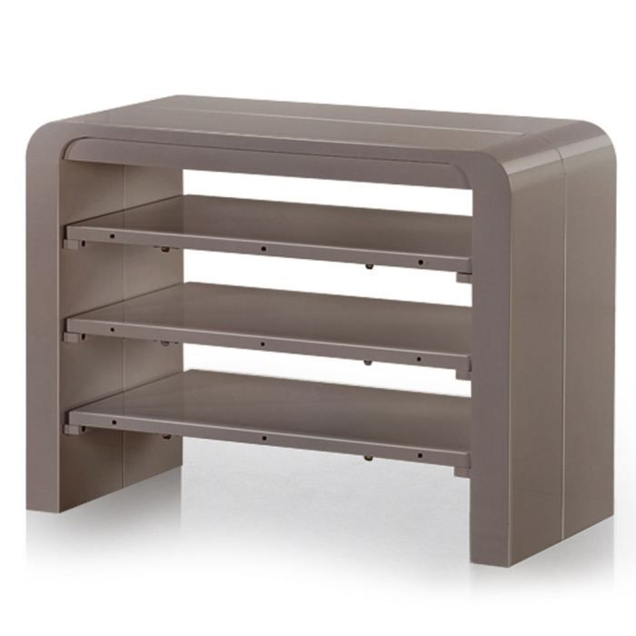 Table console taupe - Console extensible taupe ...