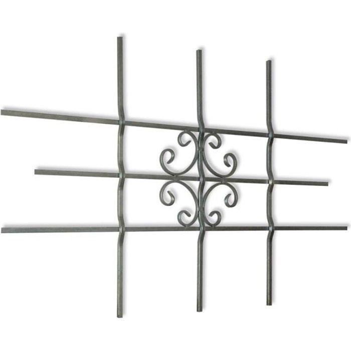 grille de securite fenetre achat vente grille de securite fenetre pas cher les soldes sur. Black Bedroom Furniture Sets. Home Design Ideas