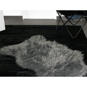 tapis peau de mouton achat vente tapis peau de mouton. Black Bedroom Furniture Sets. Home Design Ideas