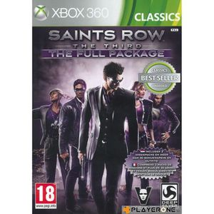 JEUX XBOX 360 aints Row The Third : The Full Package (CLASSICS)