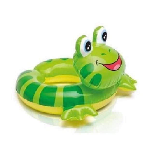 Bouee boue pneumatique animaux grenouille enfants for Animaux gonflable piscine