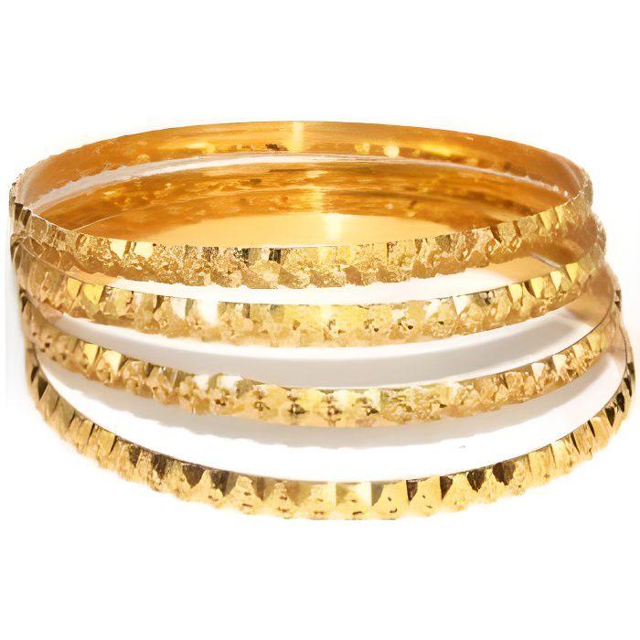 Bracelets indien en plaqué or 2.8