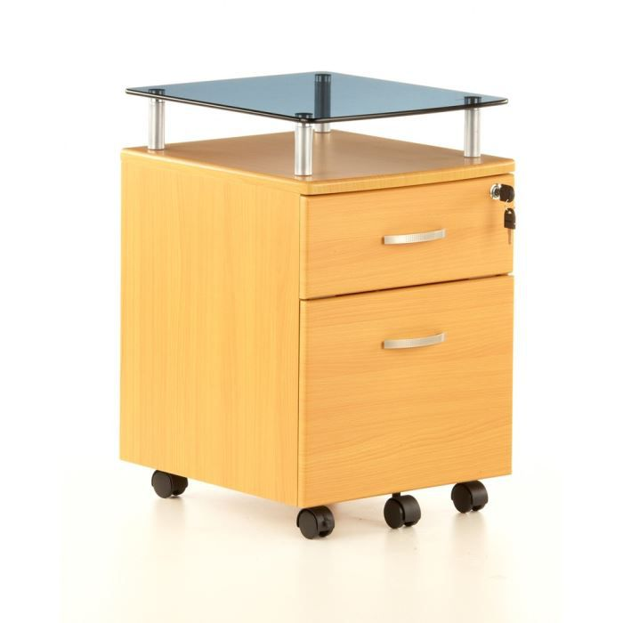 caisson tiroirs sur roulettes ekon plus h tr achat vente caisson de bureau caisson. Black Bedroom Furniture Sets. Home Design Ideas