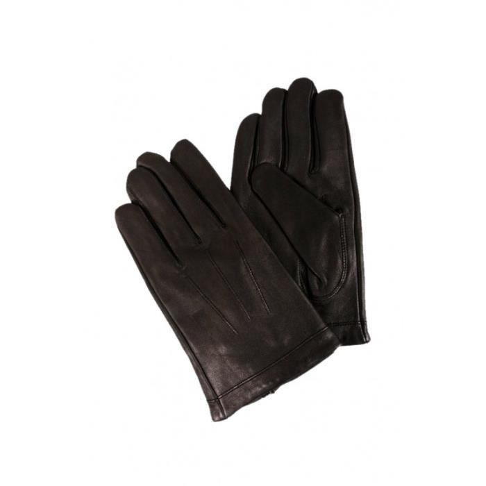 gants en cuir homme noir achat vente gants sous gants gants en cuir homme noir cadeaux. Black Bedroom Furniture Sets. Home Design Ideas
