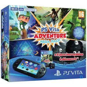 CONSOLE PS VITA PS Vita Adventure Coupon 5 Jeux PS Vita+Carte 8Go