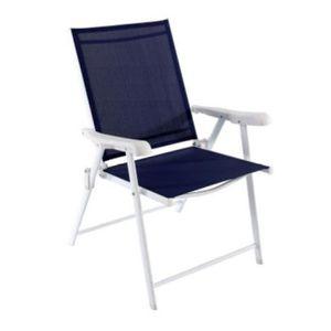chaise pliante fer achat vente chaise pliante fer pas. Black Bedroom Furniture Sets. Home Design Ideas