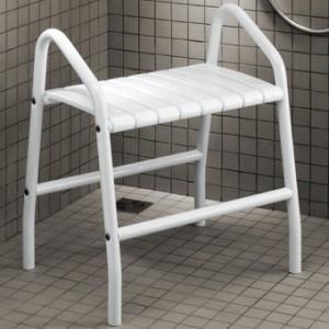 banc de douche avec 2 poign es pellet achat vente porte accessoire banc de douche avec 2. Black Bedroom Furniture Sets. Home Design Ideas