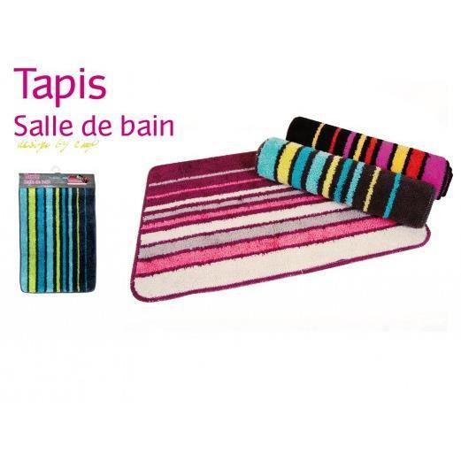 tapis de bain violet gris achat vente tapis bain. Black Bedroom Furniture Sets. Home Design Ideas