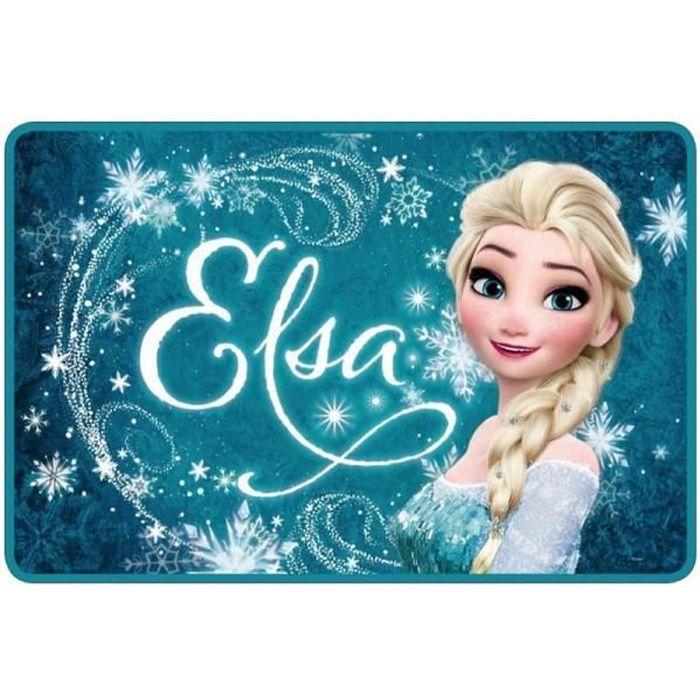 Tapis reine des neiges elsa achat vente tapis de bain cdiscount Tapis reine des neiges