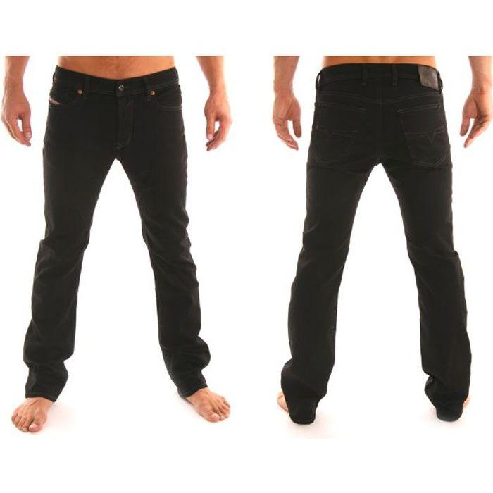 jeans diesel waykee stretch noir noir achat vente jeans jeans diesel waykee stretch. Black Bedroom Furniture Sets. Home Design Ideas