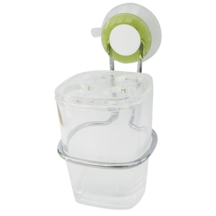 Porte brosse dents ventouse achat vente porte accessoire porte brosse dents cdiscount - Porte brosse a dent ventouse ...