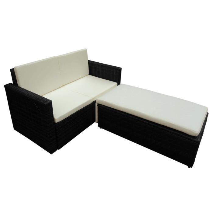 canap bain de soleil modulable r sine tress e achat. Black Bedroom Furniture Sets. Home Design Ideas