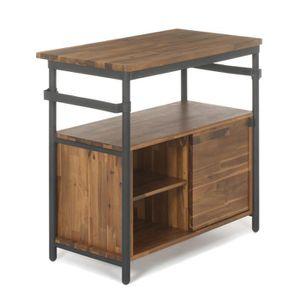meuble salle de bain acacia achat vente meuble salle. Black Bedroom Furniture Sets. Home Design Ideas