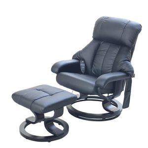 fauteuil de relaxation achat vente fauteuil de relaxation pas cher cdiscount. Black Bedroom Furniture Sets. Home Design Ideas