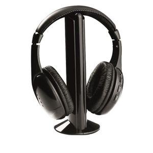 casque sans fil pour televiseur achat vente casque sans fil pour televiseur pas cher cdiscount. Black Bedroom Furniture Sets. Home Design Ideas