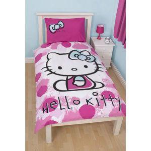 PARURE DE DRAP Parure de lit Hello Kitty Fawn
