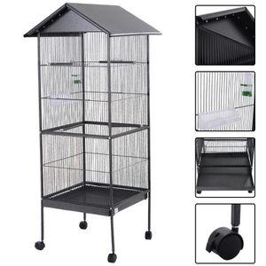 cage a oiseaux sur pied achat vente cage a oiseaux sur pied pas cher cdiscount. Black Bedroom Furniture Sets. Home Design Ideas