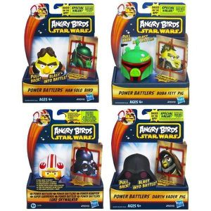 FIGURINE - PERSONNAGE STAR WARS - A2497E350 - FIGURINE - ANGRY BIRDS - D