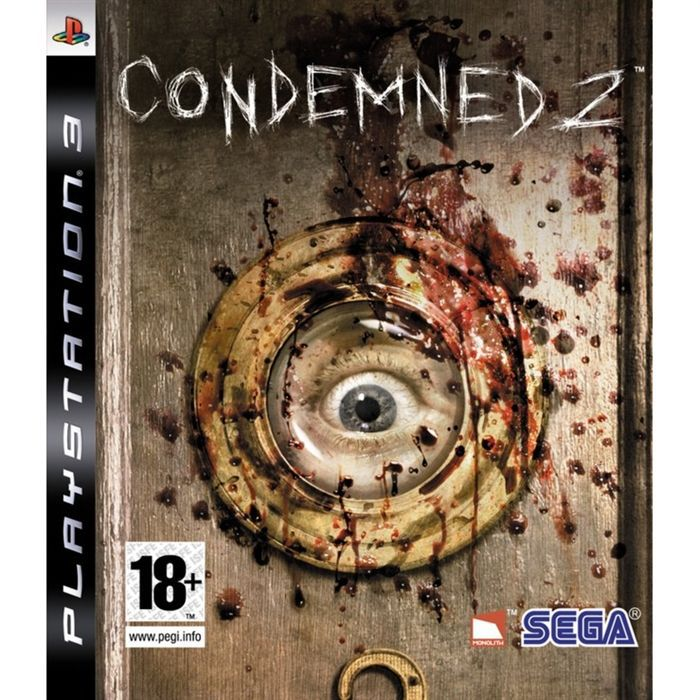 Condemned 3 Ps3 Condemned 2 Jeu Console Ps3