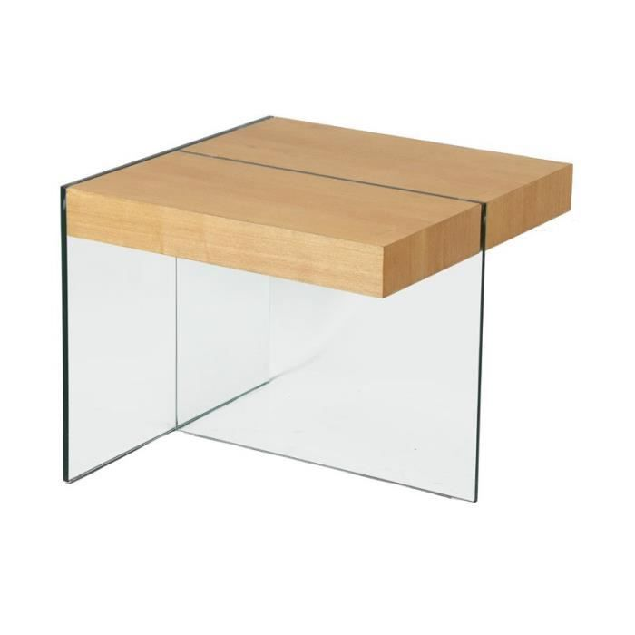 bout de canape verre achat vente bout de canape verre. Black Bedroom Furniture Sets. Home Design Ideas