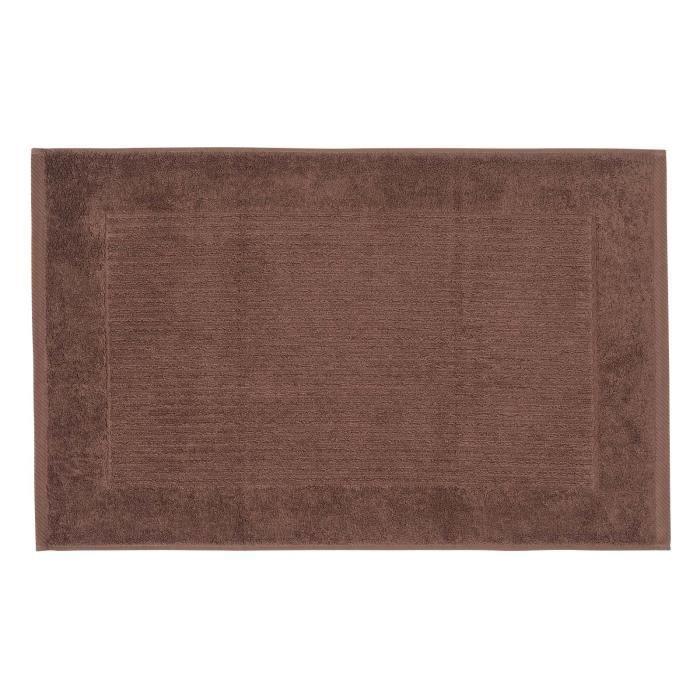 tapis de bain uni 100 coton turc chocolat achat vente tapis de bain 5055967435339 cdiscount. Black Bedroom Furniture Sets. Home Design Ideas