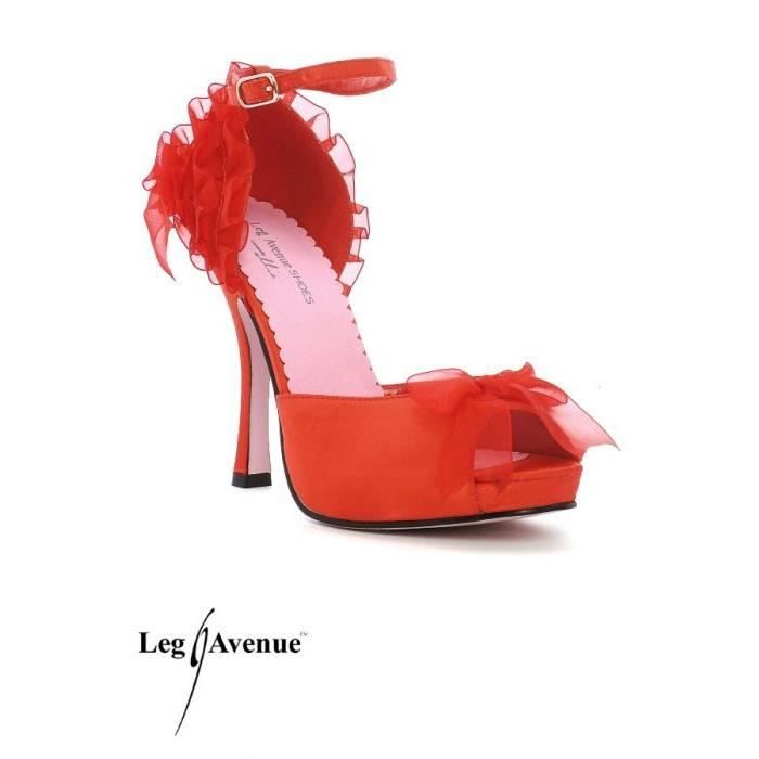 chaussures talons tango femme Rouge Achat / Vente Chaussures