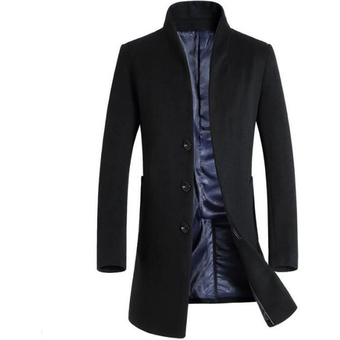 manteau 3 4 homme achat vente manteau 3 4 homme pas. Black Bedroom Furniture Sets. Home Design Ideas