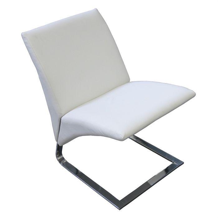 Fauteuil simili cuir achat vente fauteuil fauteuil relax flexible cr me - Fauteuil relax simili cuir ...