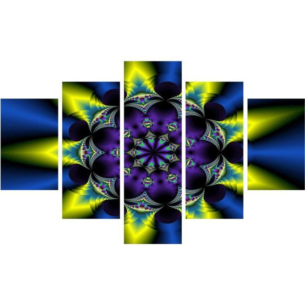 Moderne peinture abstraite d'art fleur image HD de peinture sur ...