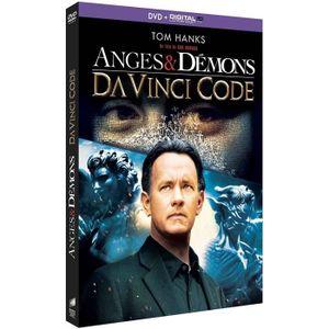 DVD FILM DVD Coffret Anges & démons + Da Vinci Code