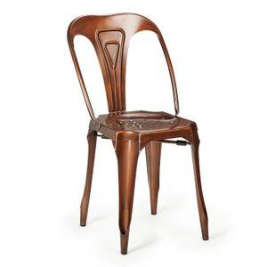 chaise indus achat vente chaise indus pas cher cdiscount. Black Bedroom Furniture Sets. Home Design Ideas
