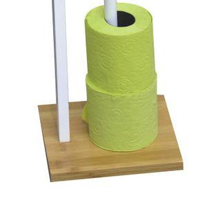 porte papier wc bambou achat vente porte papier wc bambou pas cher soldes cdiscount. Black Bedroom Furniture Sets. Home Design Ideas