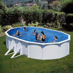 piscine autoportée ovale cdiscount