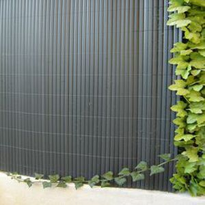 CLÔTURE - GRILLAGE Canisse PVC gris perle (H 1.2 m X 3 m) 9 metres…