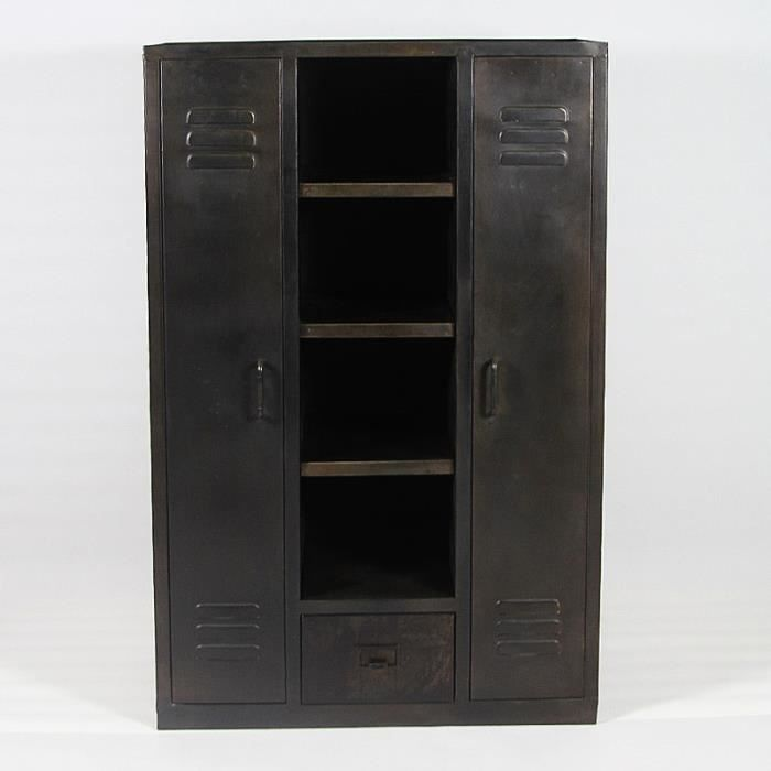 armoire metallique chambre. Black Bedroom Furniture Sets. Home Design Ideas