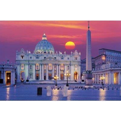 Puzzle basilique saint pierre rome achat vente puzzle for Exterieur basilique saint pierre