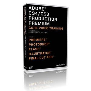 CRÉATION NUMÉRIQUE Adobe Production Premium CS4  CS3 Training Bund…