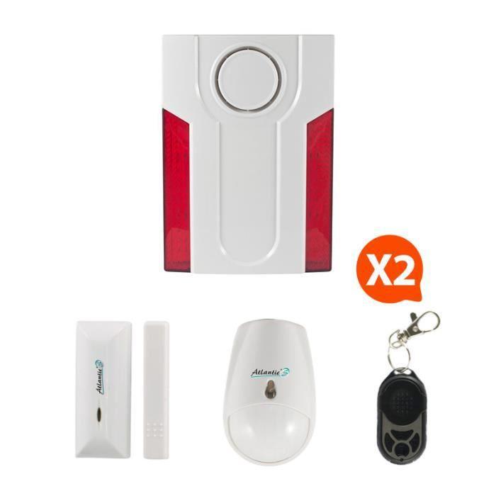 kit alarme detecteur d ouverture achat vente kit. Black Bedroom Furniture Sets. Home Design Ideas