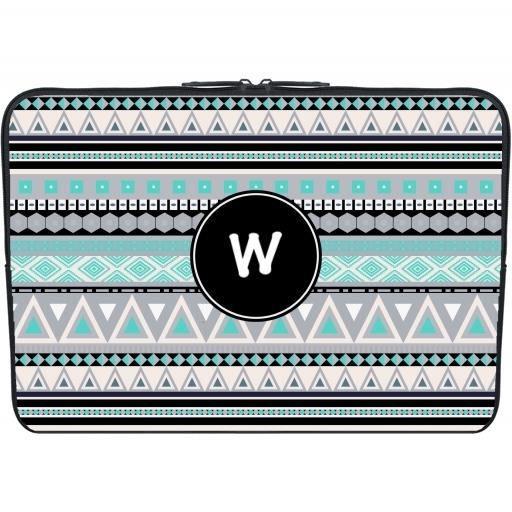 housse neoprene pc ordinateur portable 13 3 pouces monogramme motif tribal w prix pas. Black Bedroom Furniture Sets. Home Design Ideas