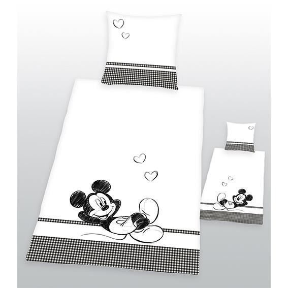 housse de couette taie mickey achat vente housse de. Black Bedroom Furniture Sets. Home Design Ideas