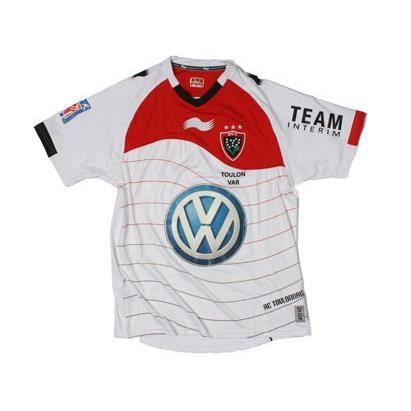 le sport sports collectifs maillot rugby rct toulon exterieur f  mp