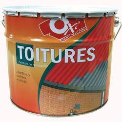 Oxi peinture special toiture 10l ardoise achat vente for Peinture special
