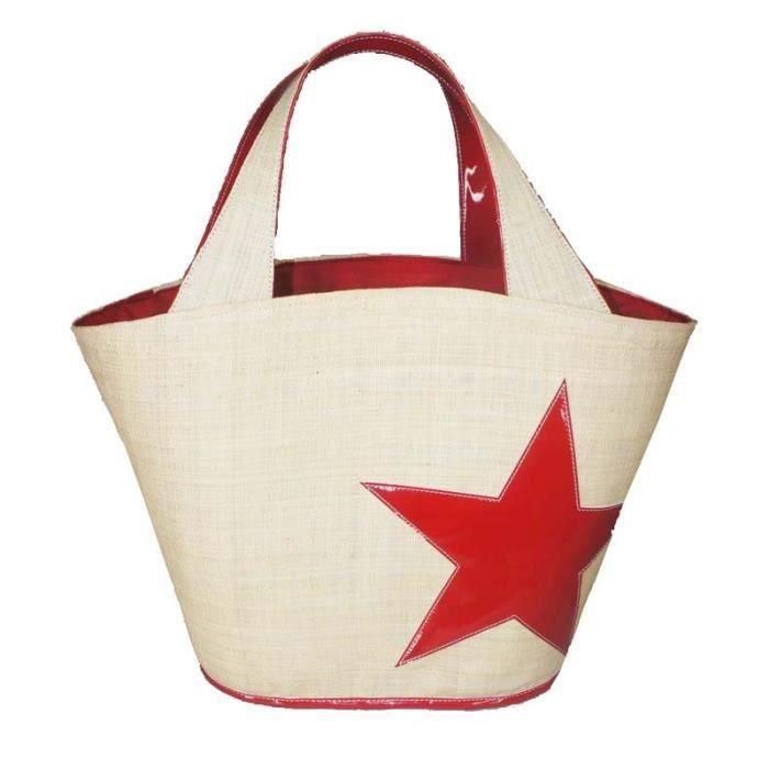 Sac Panier Etoile : Paris prix panier etoile vinyle rouge achat
