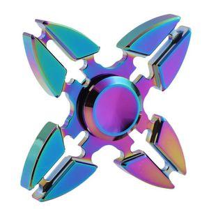 CASSE-TÊTE New Hand spinner [Multicolore] Fidget Spinner Ultr